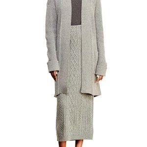 Lauren Ralph Lauren Cashmere Blend Meziv Skirt XL